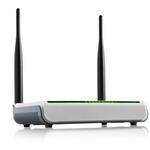 Tenda W308R / Wireless-N Router / 802.11n / 2.4 GHz / 300 Mbps / 1x WAN / 4x LAN / 2x 5 dBi (W308R)