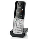 Siemens Gigaset A220A Duo / VoIP telefon / černý (L36852-H2431-R601)
