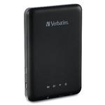 Verbatim MediaShare Wireless Portable / Wi-Fi / USB / micro SD / až 9 hod na baterii (98243)