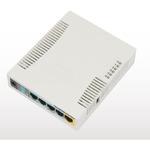 MikroTik RB951Ui-2HnD / RouterBOARD / 128 MB RAM/ 600 MHz/ 5x LAN/ 1x USB/ vč. L4 (RB951Ui-2HnD)