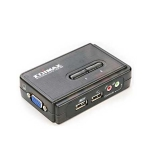 Edimax EK-UAK2 / KVM USB Switch / SOHO / 2 x PC / kabel (EK-UAK2)