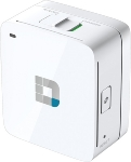 D-Link DIR-518L / Wireless AC600 Dual Band / Wall-Plug Cloud Router / Charger / 1x 10/100 RJ45 / 1x USB (DIR-518L)