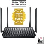 ASUS RT-AC1200G+ / MIMO Router AC1200 / 2.4GHz - 300Mbps / 5GHz - 867Mbps / GWAN + 4x GLAN / USB 2.0