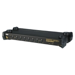 ATEN CS1758Q9-AT-G / 8-Port PS/2-USB KVM Switch / 19 / Audio PC / MAC / SUN (CS1758Q9-AT-G)