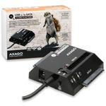 AXAGO CLONE adaptér USB2.0 - 3x SATA HDD vč. AC (ADSA-3S)