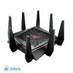 ASUS GT-AC5300 ROG Rapture / MU-MIMO Router AC5300 / Wi-Fi 802.11ac / Tri-Band 2.4+5+5GHz / 1x GWAN / 8x GLAN / USB 3.0 (90IG03S1-BN2G00)