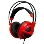 STEELSeries Siberia V2 Red / sluchátka s mikrofonem / 3,5 mm jack / Červené (51104)