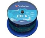 50ks CD-R 700MB Verbatim 52x / Extra Protection / Spindl (43351)