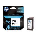 HP C8767 originální cartridge 339 / Deskjet 5740, 6540 / 21 ml / Černá (C8767EE)