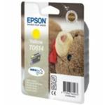 Epson T0614 originální cartridge / 8 ml / Žlutá (C13T06144010)