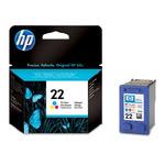 HP C9352 originální cartridge 22 / Deskjet 3920, 3940 / 5 ml / Barevná (C9352AE)