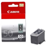 Canon PG-50 originální cartridge / 22 ml / černá (0616B001)