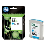 HP C9391AE Ink Cart No.88XL pro OJ K550,K8600, 17ml, Cyan / výprodej (C9391AE)