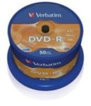VERBATIM DVD-R(50-Pack)Spindle/General Retail/16x/4.7GB (43548)