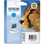Epson T0712 originální cartridge / 5.5 ml / Modrá (C13T07124010)