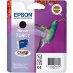 Epson T0801 originální cartridge / 7.4 ml / Černá (C13T08014010)