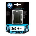 HP C8721 originální cartridge 363 / Photosmart 3210, 3310 / 6 ml / Černá (C8721EE)