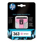 HP C8775E originální cartridge 363 / Photosmart 3210, 3310 / 5,5 ml / Světle fialová (C8775EE)