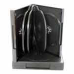 BOX na 8*DVD / černý - 1ks