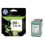HP CB338EE Ink Cart No.351XL pro OJ 5780, 5785, 14ml, Color (CB338EE)