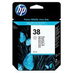 HP C9414 originální cartridge 38 / Photosmart Pro B9180 / 27 ml / Světle šedá (C9414A)