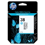 HP C9418 originální cartridge 38 / Photosmart Pro B9180 / 27 ml / Světle modrá (C9418A)