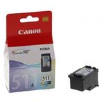 Canon CL-511 originální cartridge / 9 ml / barevná (2972B001)