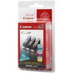 Canon Multipack CLI-521 originálních barev / 3x9ml / CMY (2934B007)