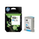 HP C4907AE originální cartridge 940XL / HP Officejet Pro 8000 / 1.4000 stran / Modrá / výprodej (C4907AE)