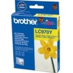 Brother LC-970Y originální cartridge / DCP-135C, DCP-150C / 300 stran / Žlutá (LC970Y)