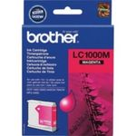 Brother LC-1000M originální cartridge / DCP-130C, DCP-330C / 400 stran / Červená (LC1000M)
