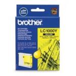Brother LC-1000Y originální cartridge / DCP-130C, DCP-330C / 400 stran / Žlutá (LC1000Y)