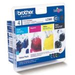 Brother LC-980VALBP originální cartridge / DCP-145C, DCP-165C / 1x 300 + 3x 260 stran / MultiPack (LC980VALBP)