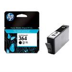 HP CB316EE originální cartridge 364 / Photosmart D5460, C5380 / 6 ml / Černá (CB316EE)