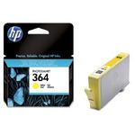 HP CB320EE originální cartridge 364 / Photosmart 5510, 7510 / 3 ml / Žlutá (CB320EE)
