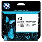 HP C9407A originální inkoustová kazeta 70 / Designjet Z2100, Z3100 / Photo black + grey (C9407A)