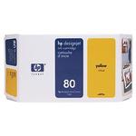 HP C4848A originální cartridge / HP DesignJet / 350 ml / Žlutá (C4848A)