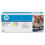 HP CE742A originální toner / CP5225 / 7.300 stran / Žlutý (CE742A)