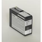 Epson originální cartridge T5801 / Stylus Pro 3800 / 80ml / foto černá (C13T580100)