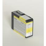 Epson originální cartridge T5804 / Stylus Pro 3800 / 80ml / žlutá (C13T580400)
