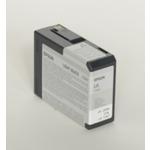 Epson originální cartridge T5807 / Stylus Pro 3800 / 80ml / světlá černá (C13T580700)