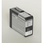 Epson originální cartridge T5808 / Stylus Pro 3800 / 80ml / matná černá (C13T580800)