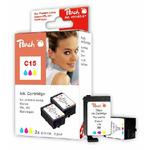 Peach BCI-15 alternativní inkoustová kazeta pro Canon i70 / barevná (PI100-27)