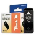 Peach T017 alternativní inkoustová kazeta pro Epson / černá (PI200-12)
