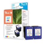 Peach 57 alternativní cartridge / HP DeskJet 5550 / 2x 17 ml / Barevná (313031)