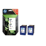 HP C9503AE originální cartridge 57 / PhotoSmart 7150, 7350 / 17ml / Barevná (dual pack) (C9503AE)
