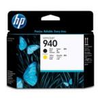 HP 940 originální tisková hlava / Officejet Pro 8000 / Černá a žlutá (C4900A)