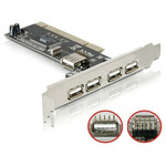 DeLock �adi� 4x USB 2.0 / PCI