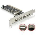DeLock řadič 4x USB 2.0 / PCI (89028)