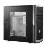 Cooler Master Elite 340 / Micro ATX / 2x USB 2.0 / 1x 80 mm + 1x 120 mm / Průhledná bočnice (RC-340-KWN1-GP)